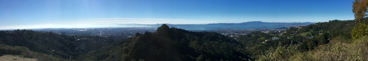 Viewpoint overlooking the Bay Area
