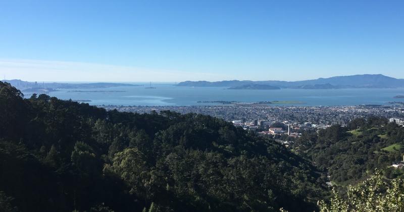 Viewpoint overlooking Berkeley, California